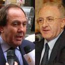 Salvatore Gagliano e Vincenzo De Luca