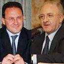 Vincenzo De Luca e Edmondo Cirielli