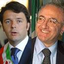 Vincenzo De Luca ed Renzi