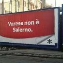 manifesto Varese non è Salerno