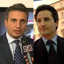 Antonio Fasolino e Stefano Caldoro