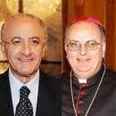 Vincenzo De Luca ed il Vescovo Luigi Moretti